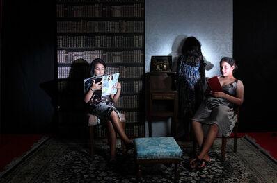Halida Boughriet, 'Les trois soeurs', 2014