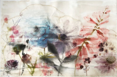 Lourdes Sanchez, 'Untitled (W. Coral Foxglove)', 2019