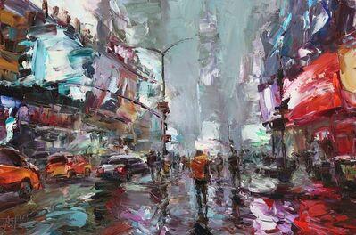 Lyudmila Agrich, 'Times Square Glow', 2019