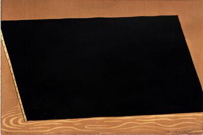 Tom Burckhardt, 'Black Monochrome (Trapazoid)', 2017