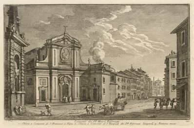 Giuseppe Vasi, 'Convento dei PP. Minori Reformati', 1747-1801