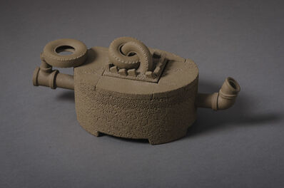 Richard Notkin, 'Teapot with Tires', 1985