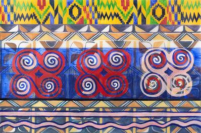 Tricia L. Townes, 'Ghanaian, Malian, and Nigerian-American 1', 2018