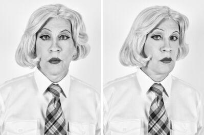 Sandro Miller, 'Christopher Makos - Lady Warhol Diptych (1981)', 2017