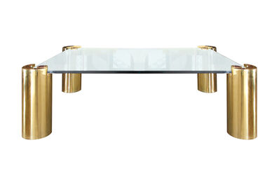 Karl Springer, 'Brass and Glass Coffee Table by Karl Springer', ca. 1970