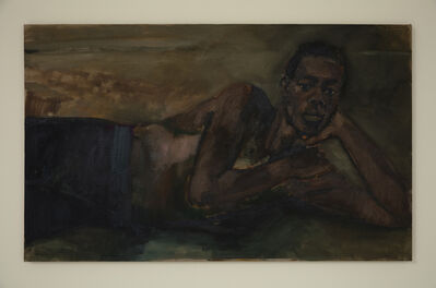 Lynette Yiadom-Boakye, 'From a Foghorn to a Siren', 2018
