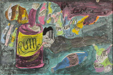 Gerald Wilde, 'Rum for Daphne', 1946