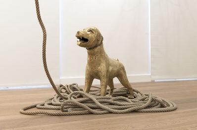 Barthélémy Toguo, 'White Dog I', 2017