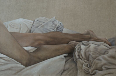 Caroline Thon, 'Legs in Sheets', 2019