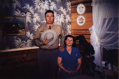 Guy Stricherz, 'Americans in Kodachrome 1945-65, Dakota Couple, Rapid City, South Dakota.  Photographer: Guy Van Nice', 1953