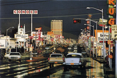 Ernst Haas, 'Route 66, Albuquerque, NM', 1969