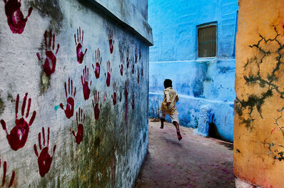 Steve McCurry, 'Boy in mid-flight, Jodhpur, Rajasthan, India', 2007