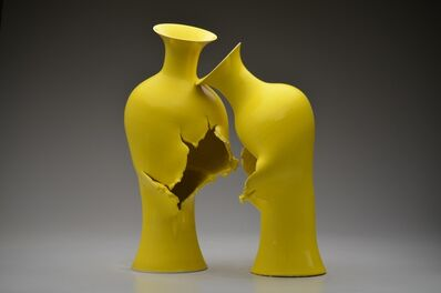 Steven Young Lee, 'Yellow Asian Baluster Vases', 2019