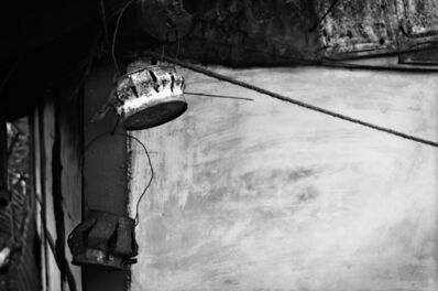 "Mohan Lal Majumder, 'Urban Lamp Shades, Black & White Photography by Indian Artist ""In Stock""', 2009"