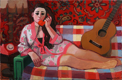 Zoya Cherkassky-Nnadi, 'Woman with Guitar', 2019