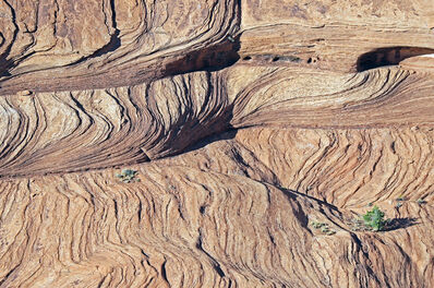 Larry Garmezy, 'Waves #2 - Abstract Landscape photography, Canyon de Chelly, natural abstraction, Arizona', 2018