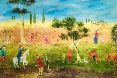Tasaduq Sohail, 'untitled - Mughal Series ', 2015