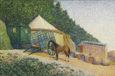 Albert Dubois-Pillet, 'Little Circus Camp', date unknown