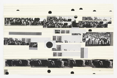 Carola Dertnig, 'Again Audience / Collage 4', 2012