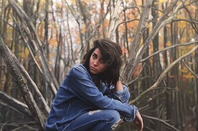 Yigal Ozeri, 'Untitled ,Kendall ', 2016
