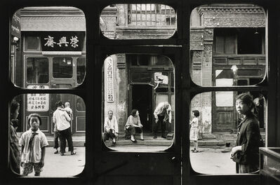 Marc Riboud, 'Antiquary Windows, Beijing, China', 1965
