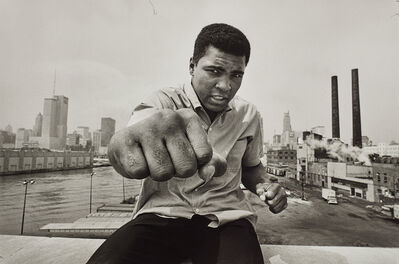 Thomas Hoepker, 'Muhammed Ali with fist, Chicago', 1966