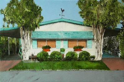 Ronald Dupont, 'La maison bleue', 2021