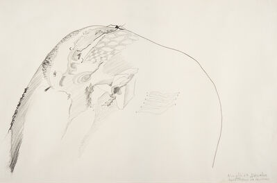 Gastone Novelli, 'Montagna in inverno', 1964