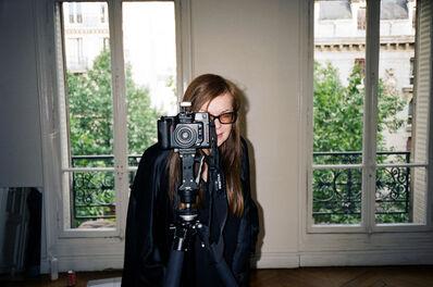 AMI SIOUX, 'Martine Sitbon in my studio, Paris.', 2010