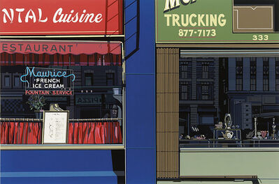 Richard Estes, 'Oriental Cuisine, from the Urban Landscapes I portfolio', 1972