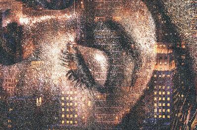 David Drebin, 'Golden Eye - Diamond Dust series', 2021