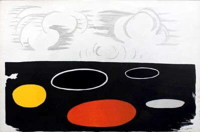 Alexander Calder, 'Maree Basse (Low Tide)', 1974