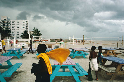 Alex Webb, 'Miami Beach, Florida', 1989