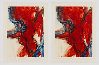 Rita Ackermann, 'Fire By Days (mono) 8/I and V', 2011