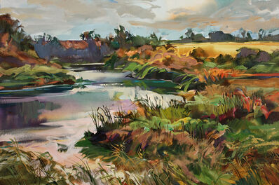 Brent Laycock, 'River by a Yellow Field', 2013