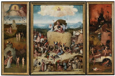 Hieronymus Bosch, 'The Haywain', 1500-1502