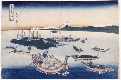 Katsushika Hokusai, 'Tsukuda island In Musashi Province', 1760-1849