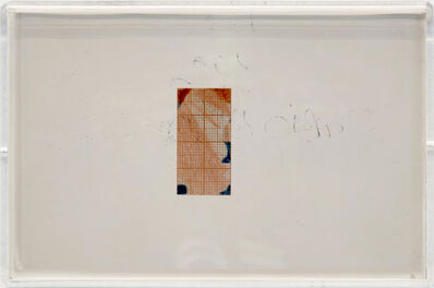 "Emilio Prini, 'Untitled (from ""X Edizioni"")', 1986"