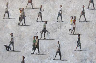 Didier Lourenço, 'Les passants', ca. 2017
