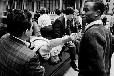 Hervé GLOAGUEN, 'Lunch break in Manhattan, NY 1967', 1967