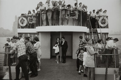 Garry Winogrand, 'Circle Line Statue of Liberty Ferry, New York', 1971