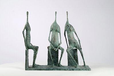 Pierre Yermia, '3 Seated Figures I', 2004