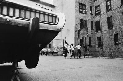 Michael von Graffenried, 'Playground in the East Village, New York United States', 1981