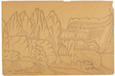 Joseph Yoakum, 'Mt. Snohetta Near Andalsnes, Norway', n.d.