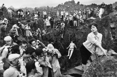 Marc Riboud, 'Un rassemblement de photographes, Karuizawa, Japon', 1958