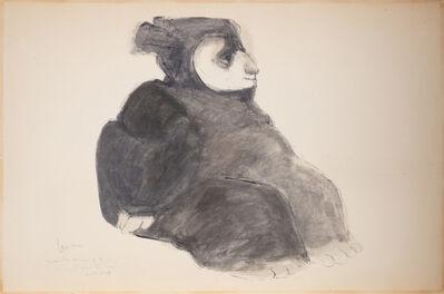 Jose Luis Cuevas, 'La Pintora', 1959