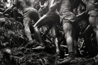 Sebastião Salgado, 'The Gold Mine, Serra Pelada, State of Pará, Brazil [legs] ', 1986