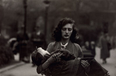 Diane Arbus, 'Woman carrying a child in Central Park, N.Y.C.', 1956