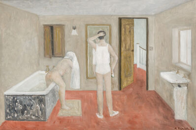 Richard Eurich, 'The Bathroom', 1982