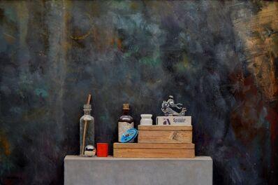 Luis Gomez MacPherson, 'Composición Rueda Azul II', 2018